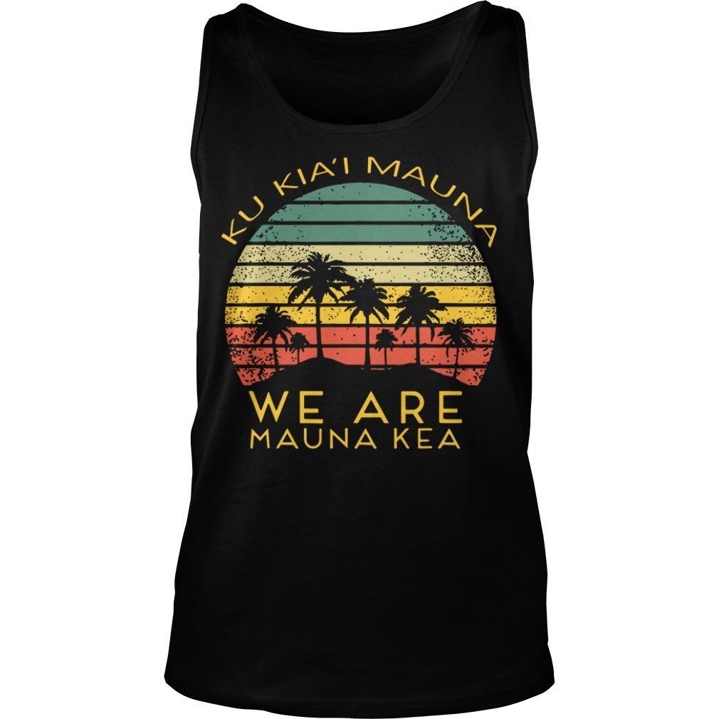 Ku Kiai Mauna We Are Mauna Kea Tank Top