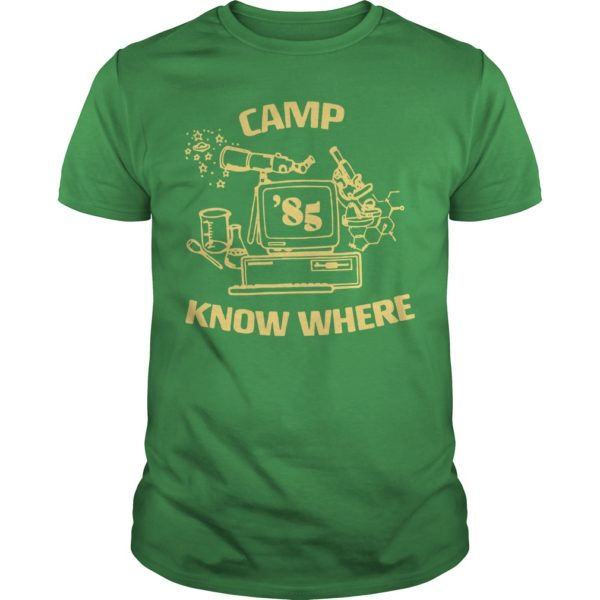 Levi's X Stranger Things Camp Know Where Shirt
