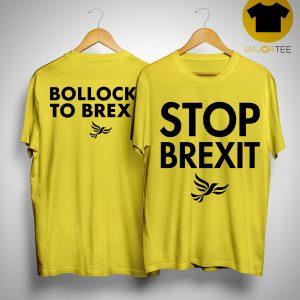 Lib Dem Stop Brexit T Shirt