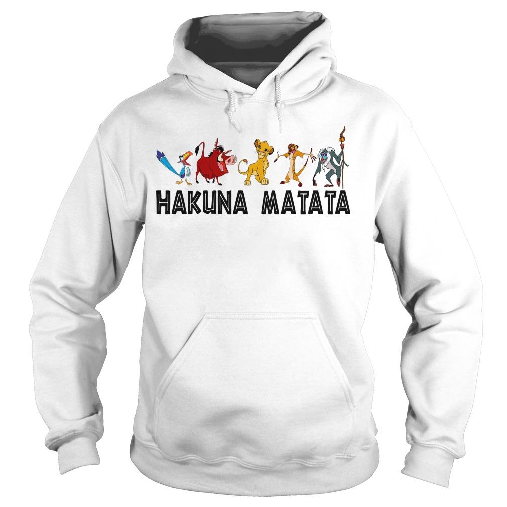 Lion King Hakuna Matata Hoodie