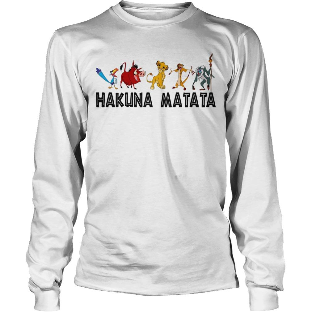 Lion King Hakuna Matata Longsleeve