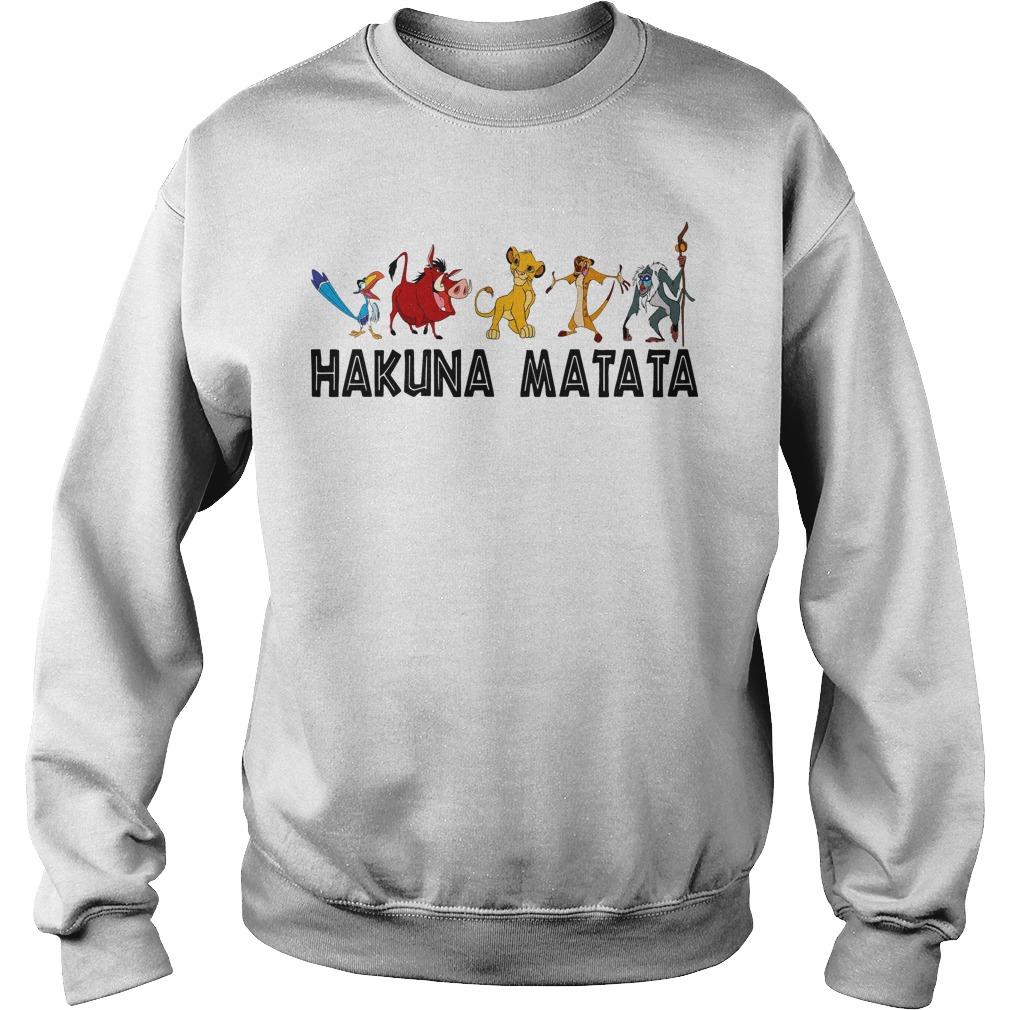 Lion King Hakuna Matata Sweater