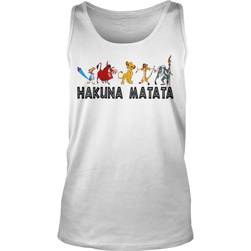 Lion King Hakuna Matata Tank Top