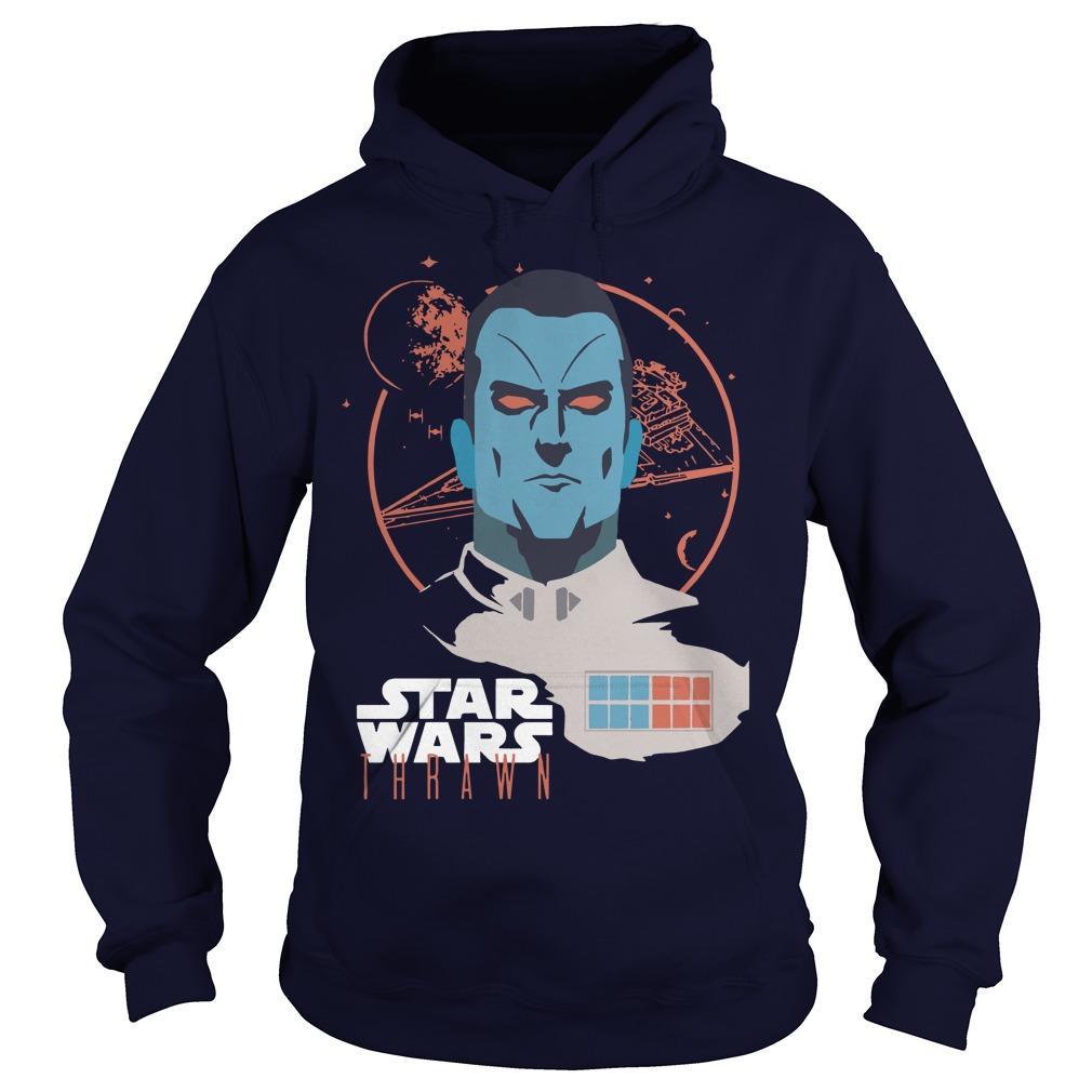 Lucasfilm Star Wars Thrawn Space Leader T Hoodie