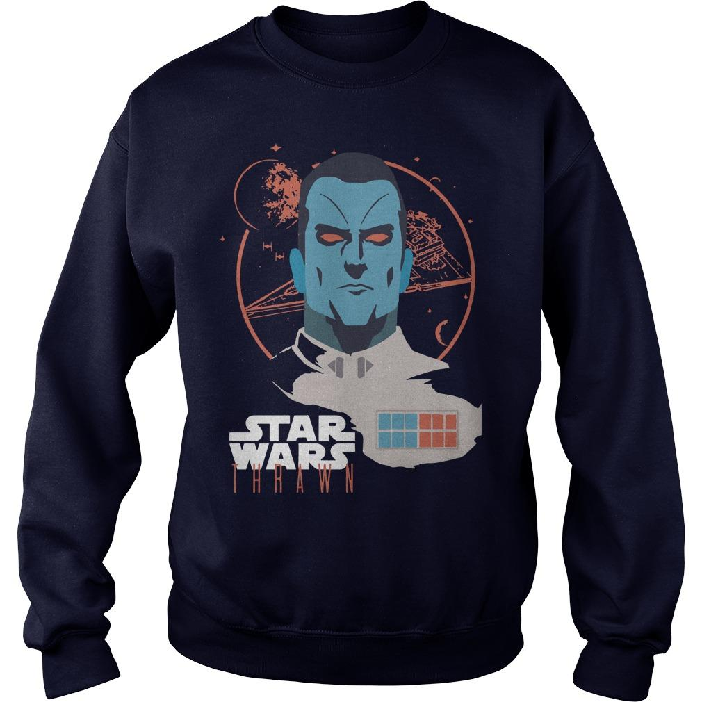 Lucasfilm Star Wars Thrawn Space Leader T Sweater
