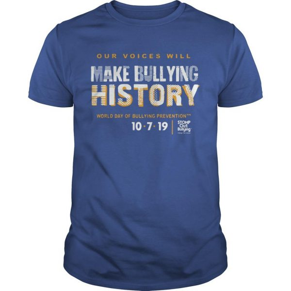 Make Bullying History World Day Of Bullying Prevention 2019