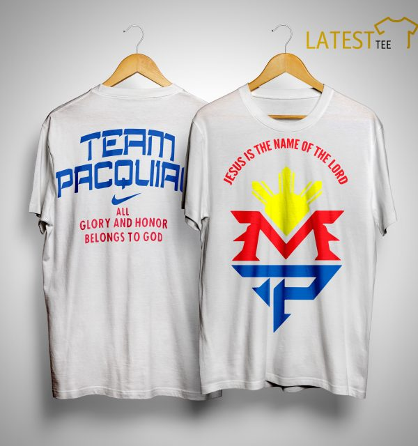 Manny Pacquiao Jesus Shirt
