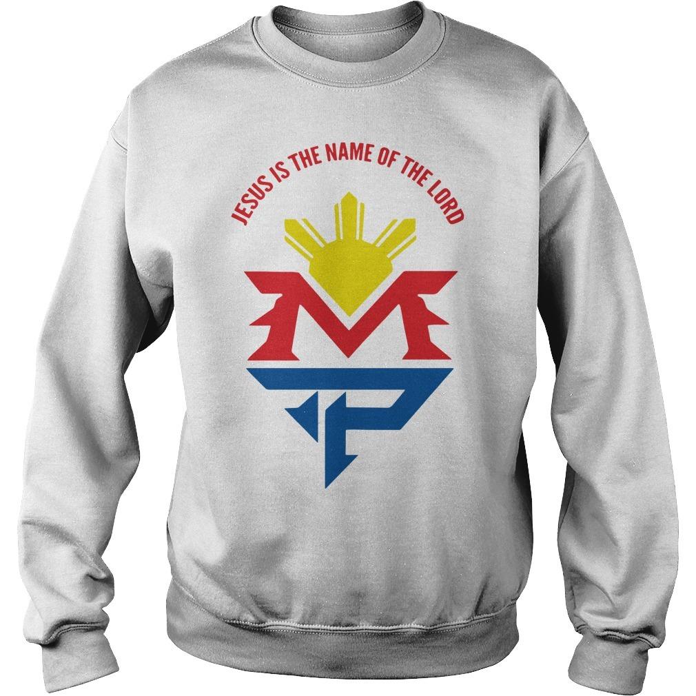 Manny Pacquiao Jesus Sweater