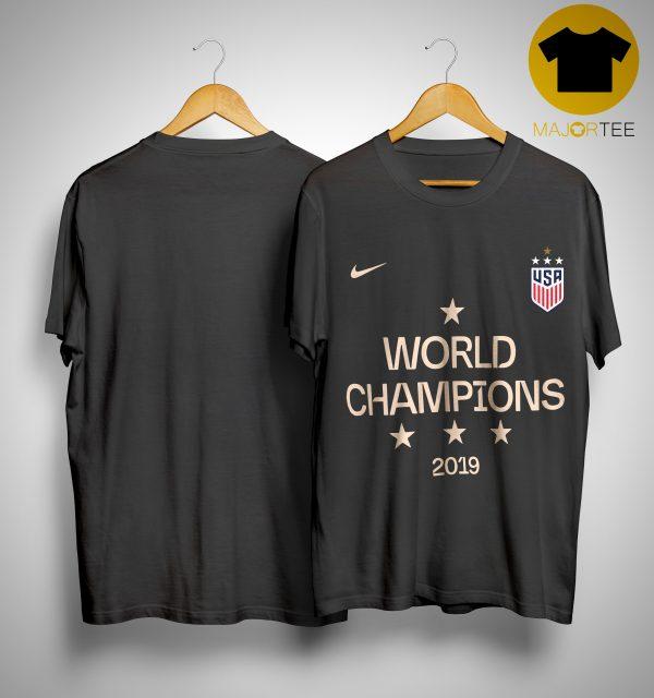 Megan Rapinoe USWNT World Champions Shirt 2019