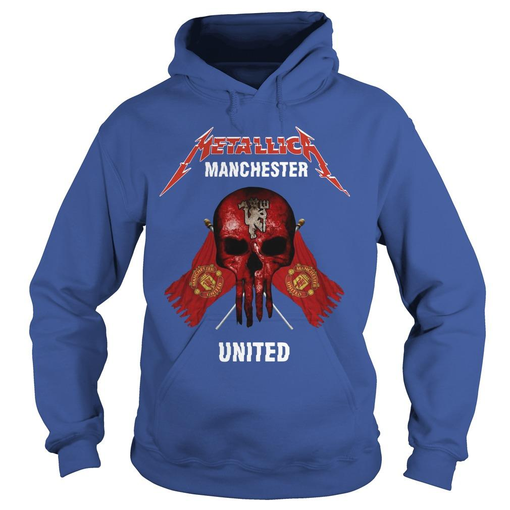 Metallica Manchester United Hoodie