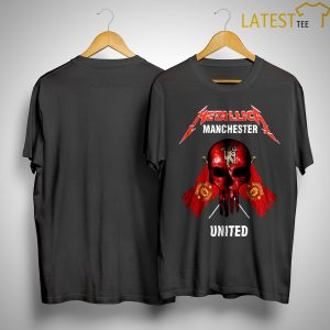 Metallica Manchester United Shirt