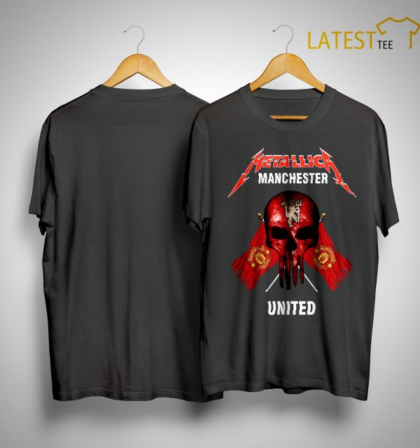 Metallica Manchester United Shirt