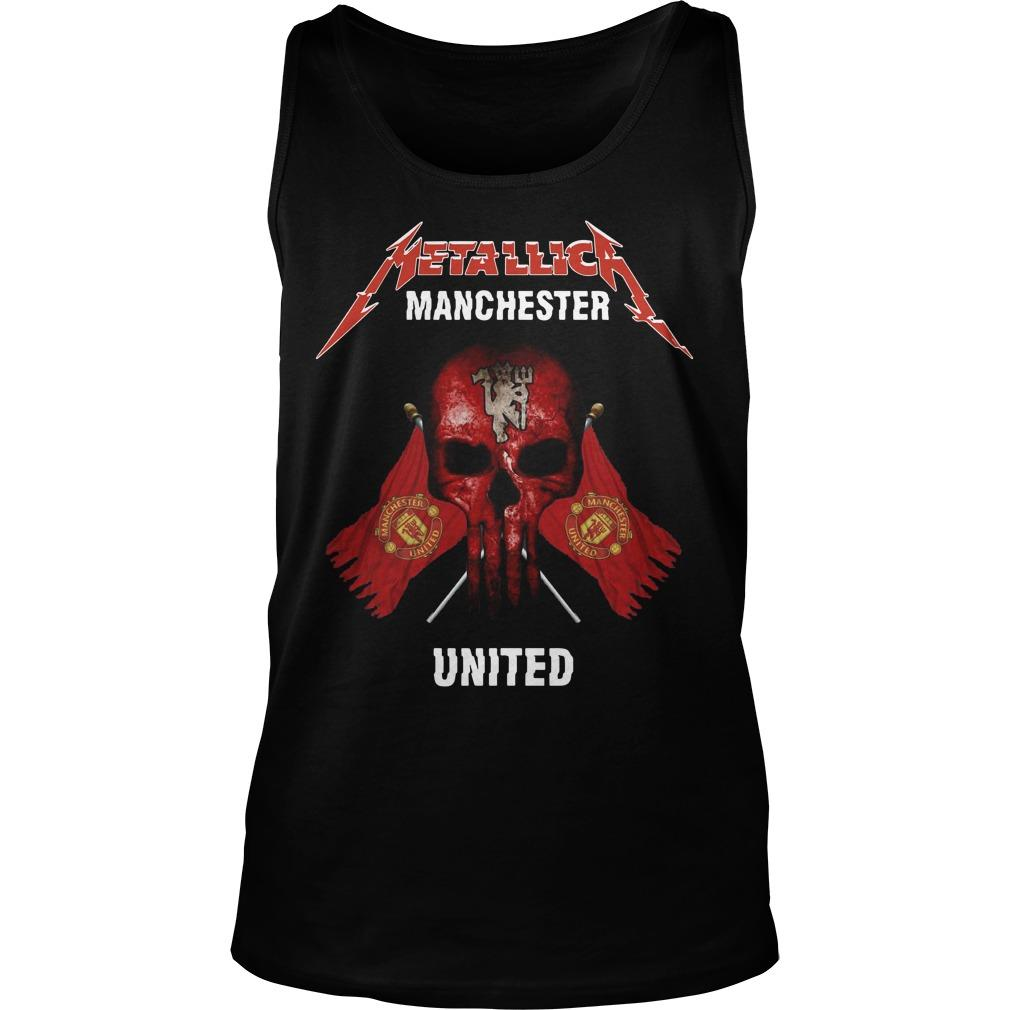 Metallica Manchester United Tank Top