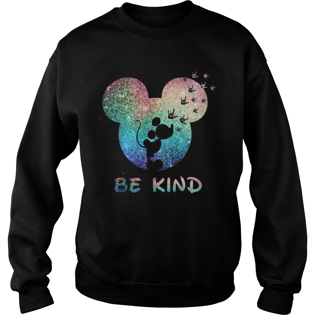 Mickey Be Kind Sweater