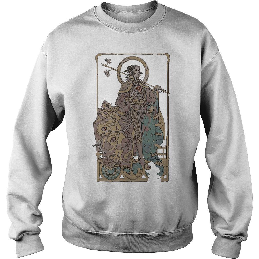 Mollymauk Long May He Reign T Sweater