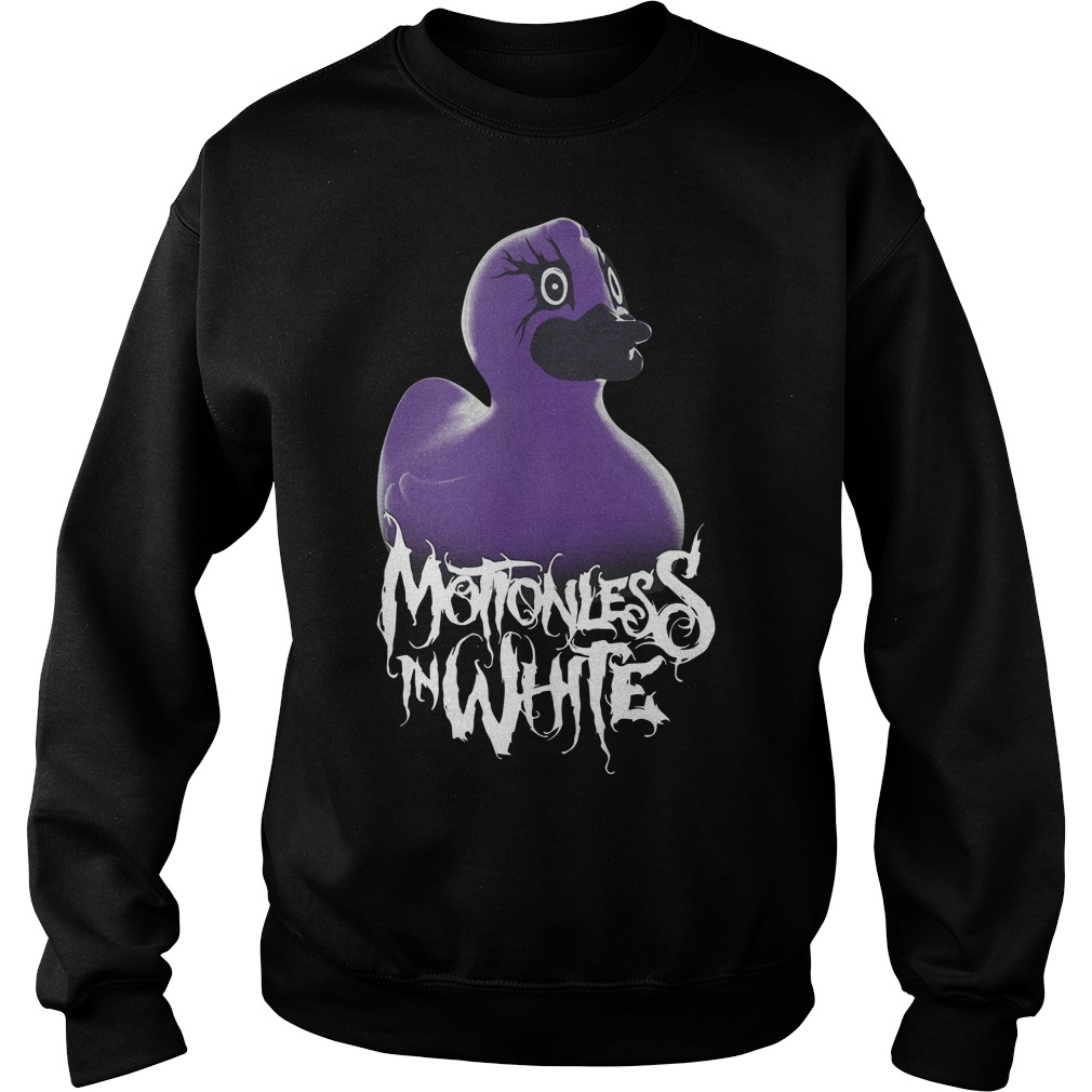 Motionless In White What The Duck Sweater