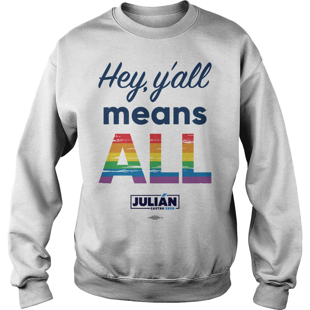 Natalie Montelongo Pride Hey Y'all Means All Julián Sweater