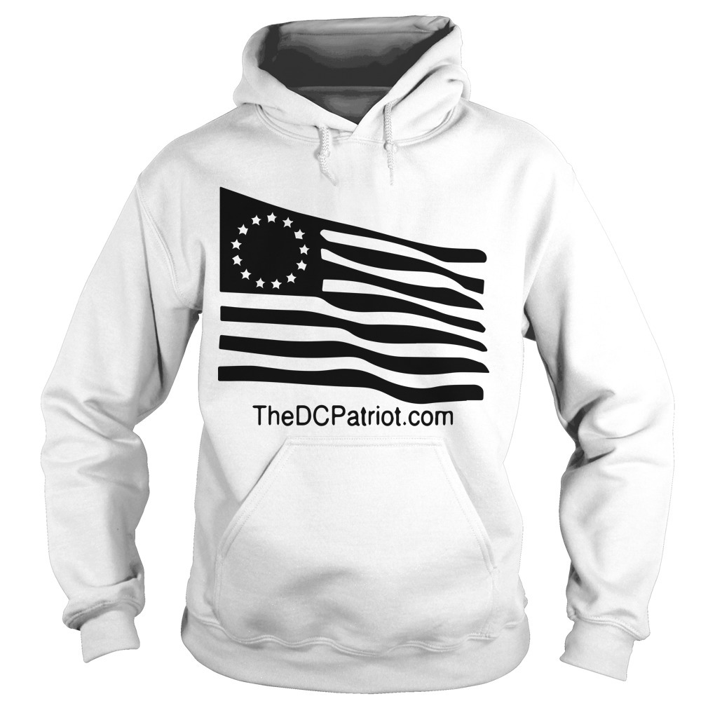 New Orange Betsy Ross Tribute Hoodie