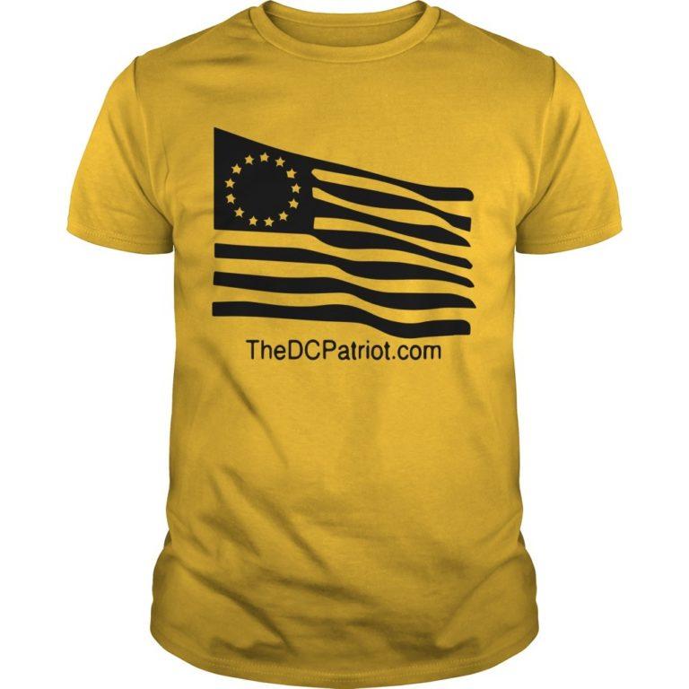 New Orange Betsy Ross Tribute Shirt