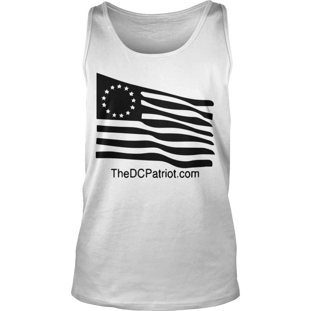 New Orange Betsy Ross Tribute Tank Top