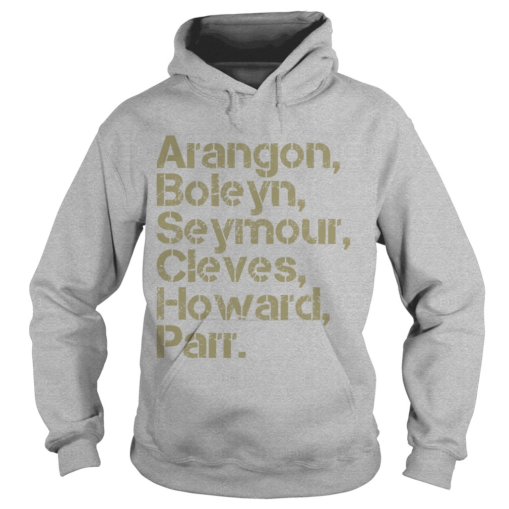Nicole Cliffe Aragon Boleyn Seymour Cleves Howard Parr Hoodie