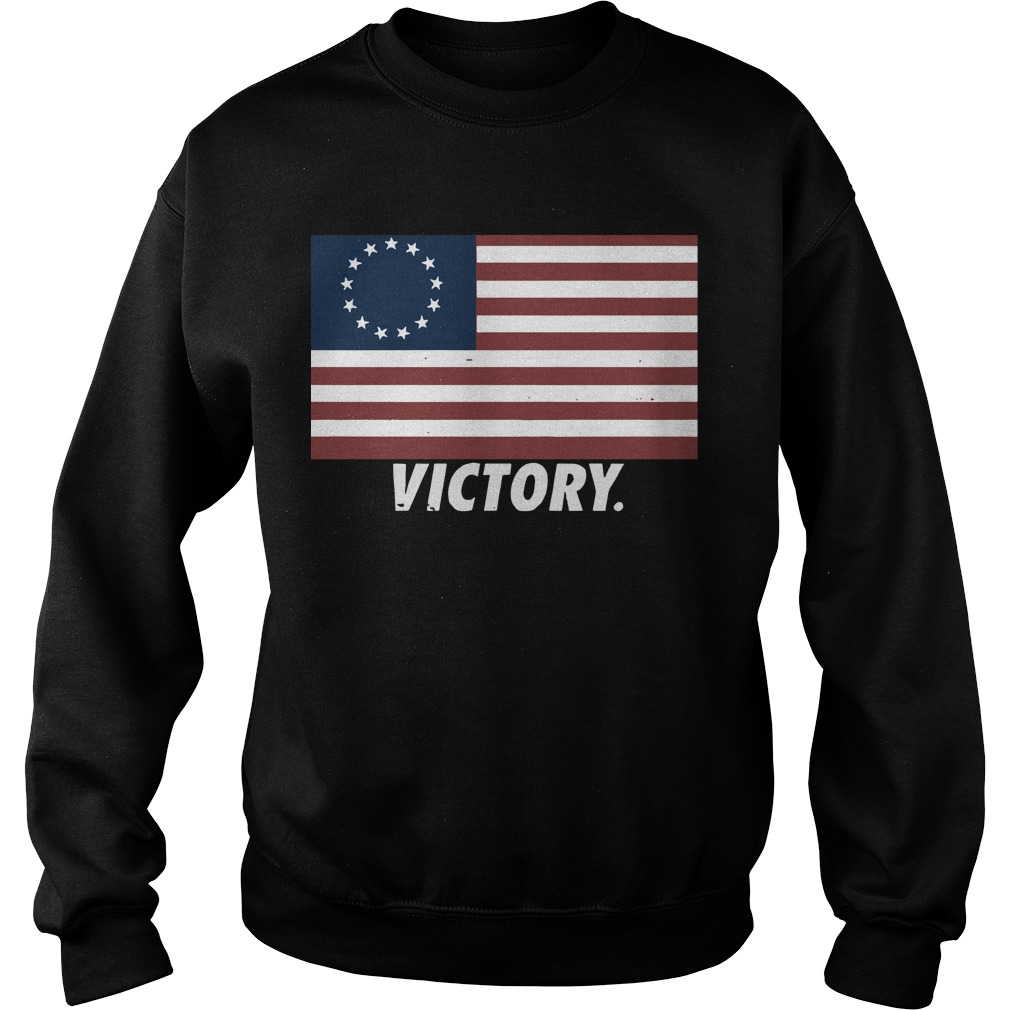 Nine Line Apparel Betsy Ross Flag T Sweater