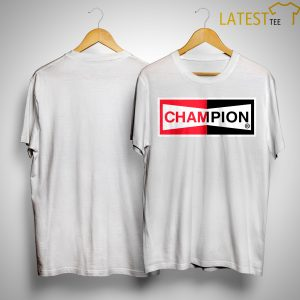 Once Upon A Time Brad Pitt Cliff Booth Champion Spark Plug T Shirt