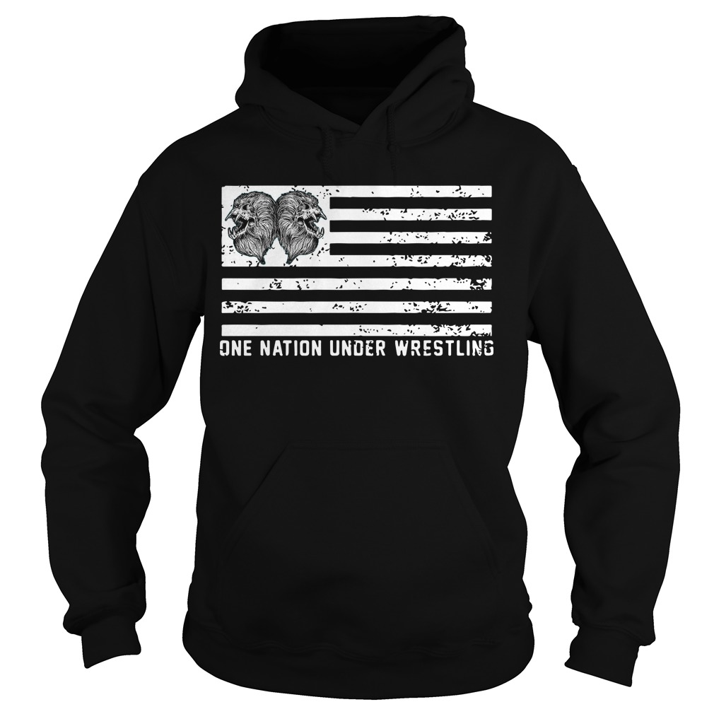 One Nation Under Wrestling Hoodie