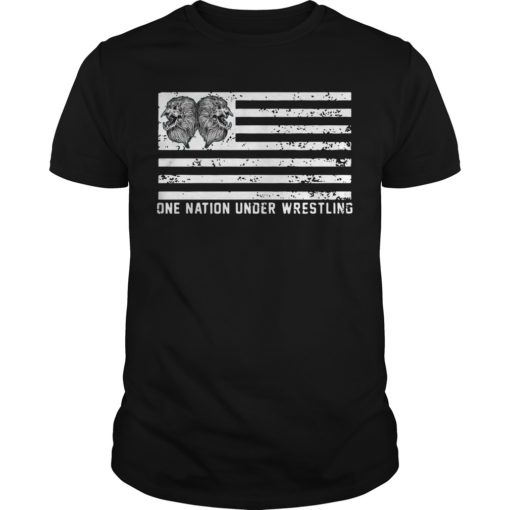 One Nation Under Wrestling Shirt