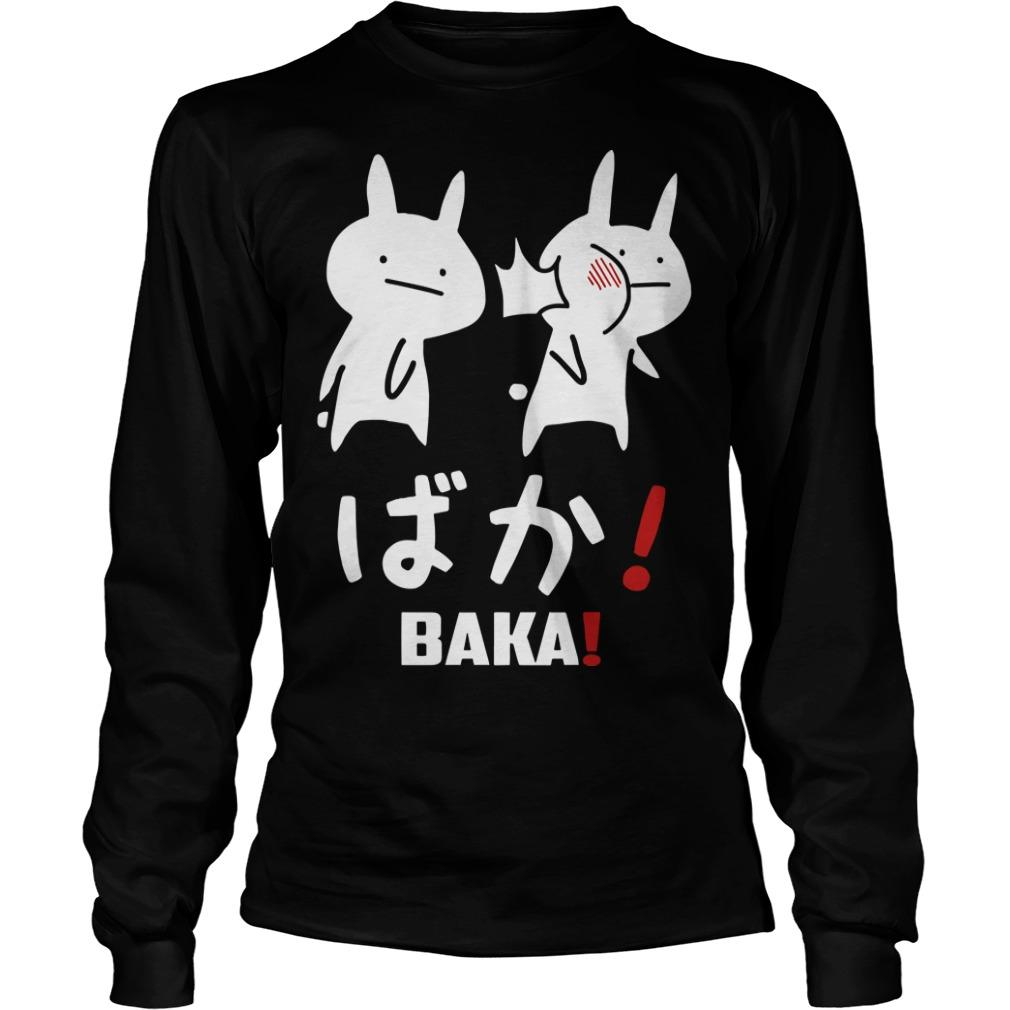 Otakus Anime Tsuki Baka Longsleeve
