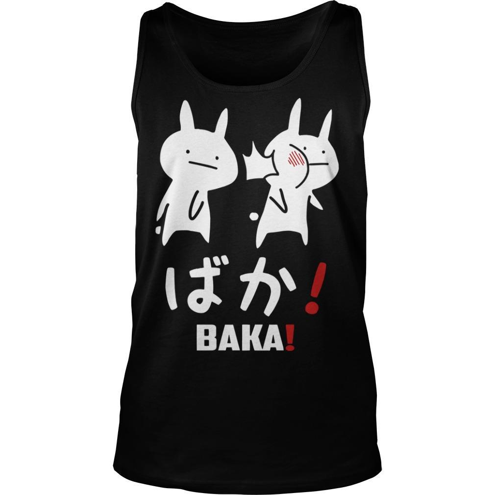 Otakus Anime Tsuki Baka Tank Top