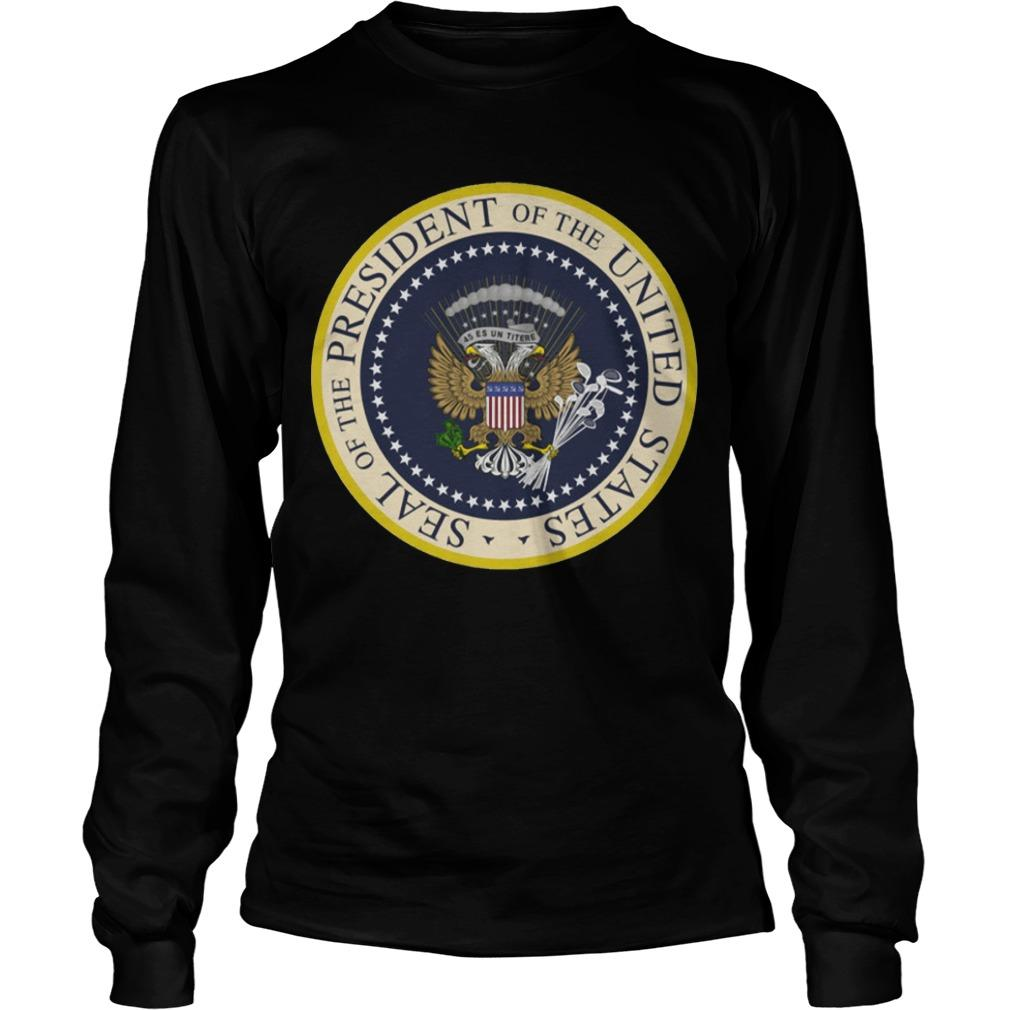 Photoshopped Trump's Presidential Seal Longsleeve
