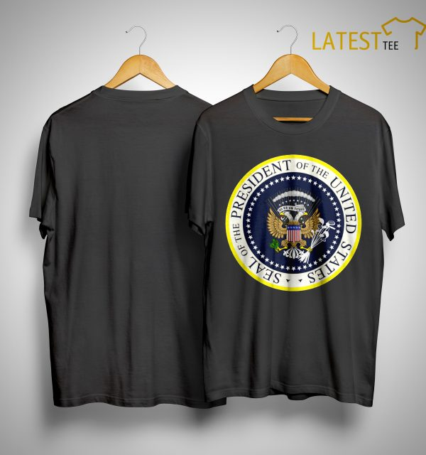 Photoshopped Trump's Presidential Seal ShirtPhotoshopped Trump's Presidential Seal Shirt