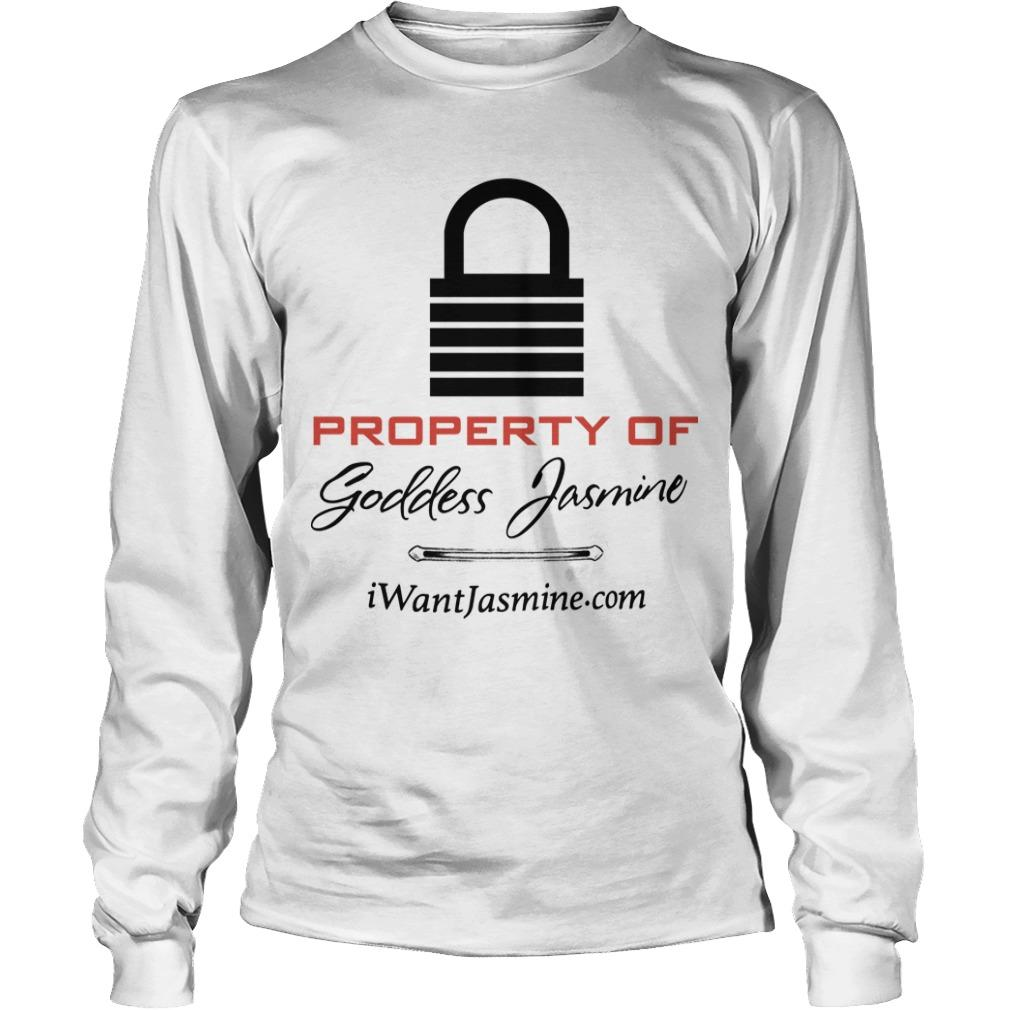 Property Of Goddess Jasmine Longsleeve