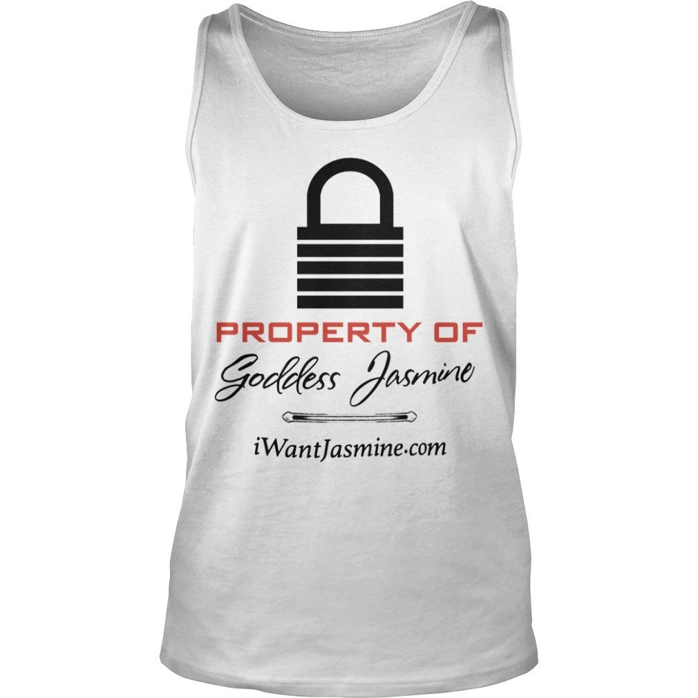 Property Of Goddess Jasmine Tank Top