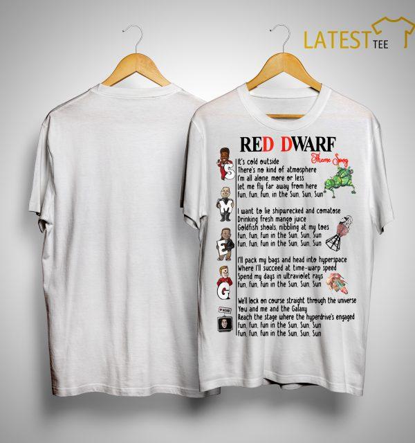 Red Dwarf Theme Song Shirt