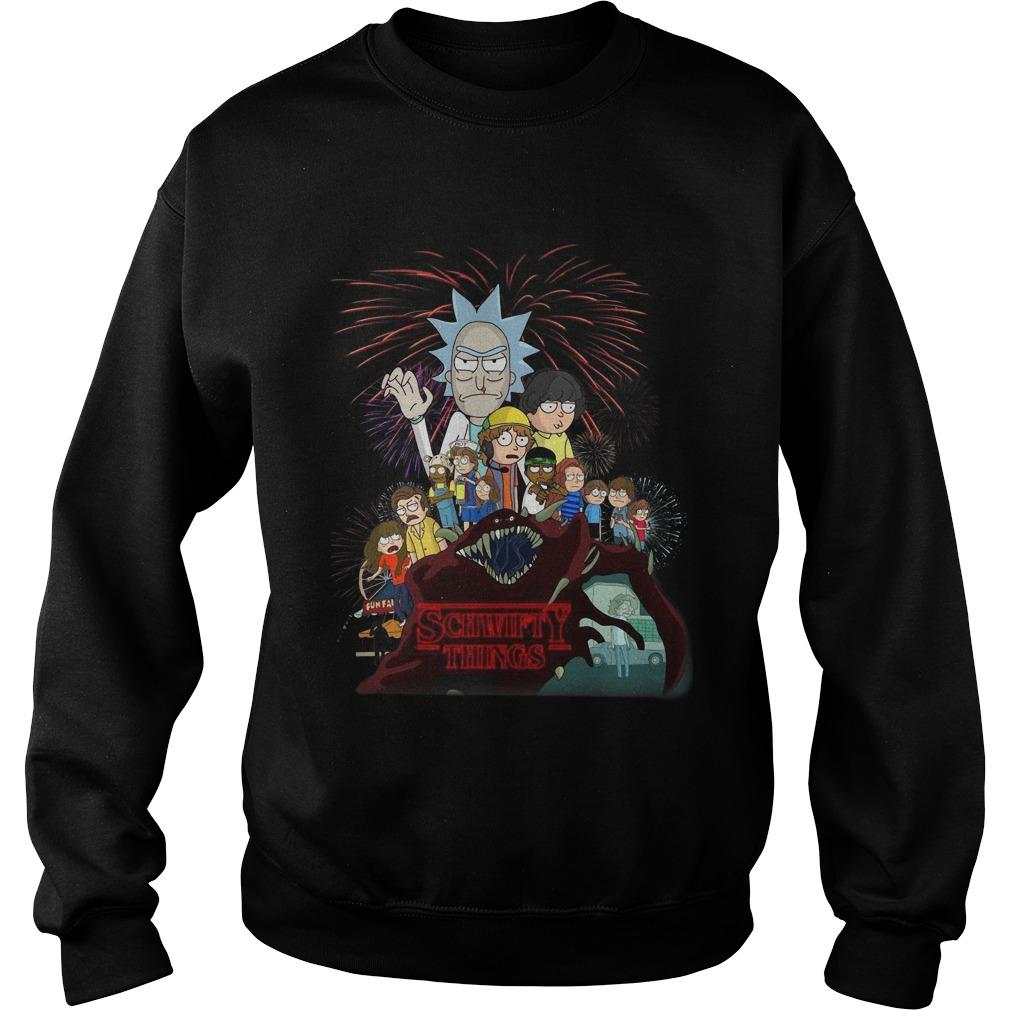 Rick And Morty Stranger Things 3 Sweater