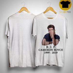 Rip Cameron Boyce 1999 2019 Shirt