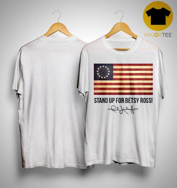 Rush Limbaugh Betsy Ross Shirt
