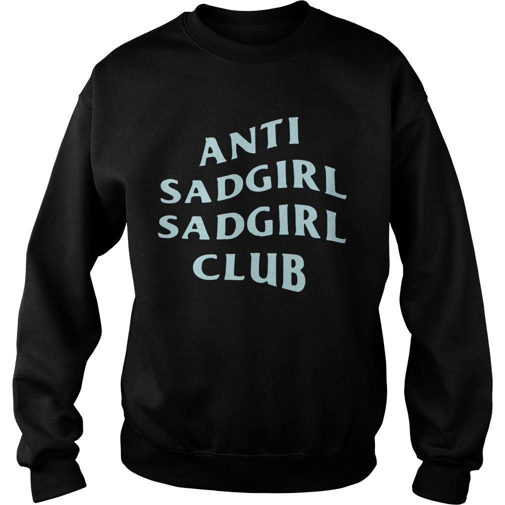 Said The Sky Anti Sadgirl Sadgirl Club Sweater