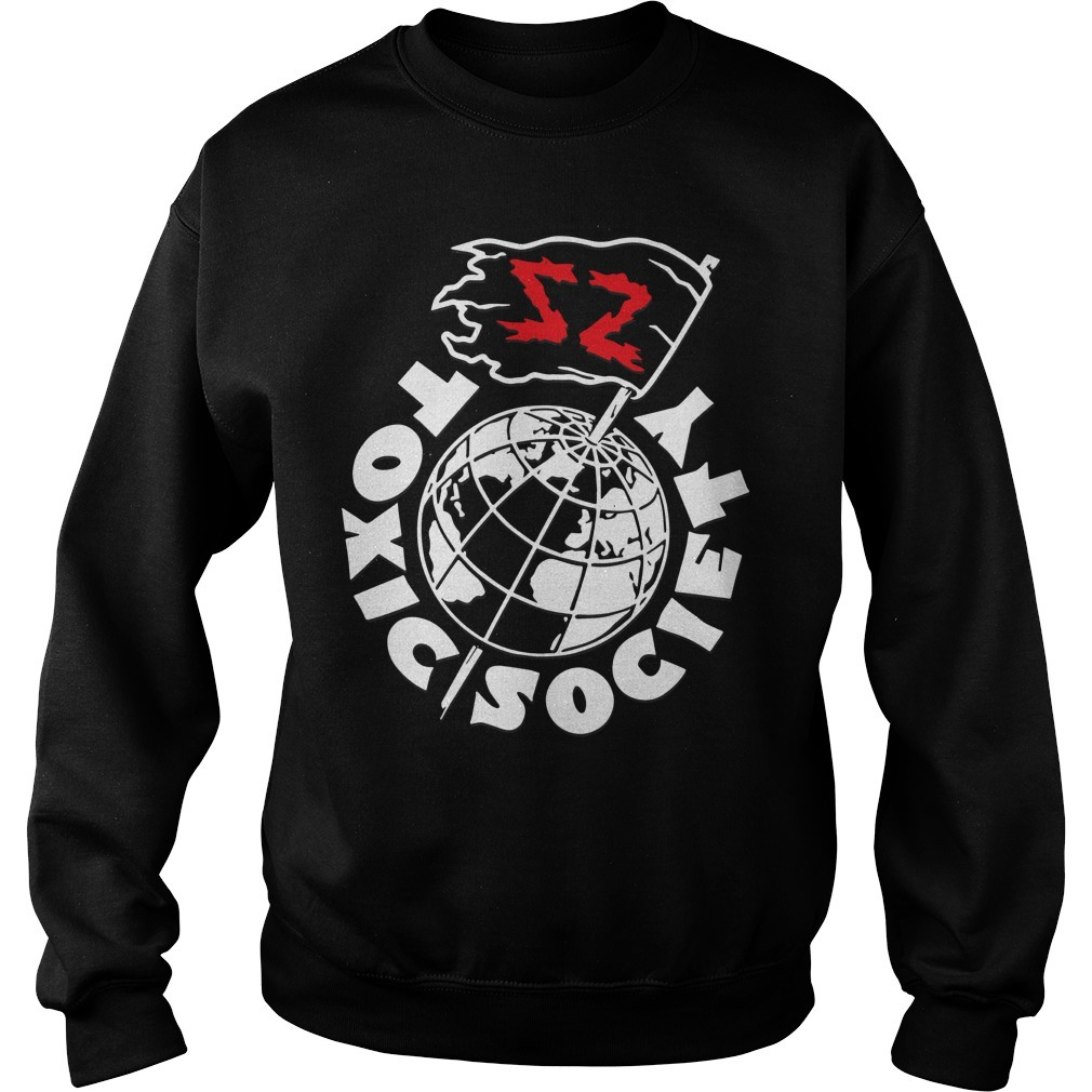 Sami Zayn Toxic Society You're The Problem Sweater