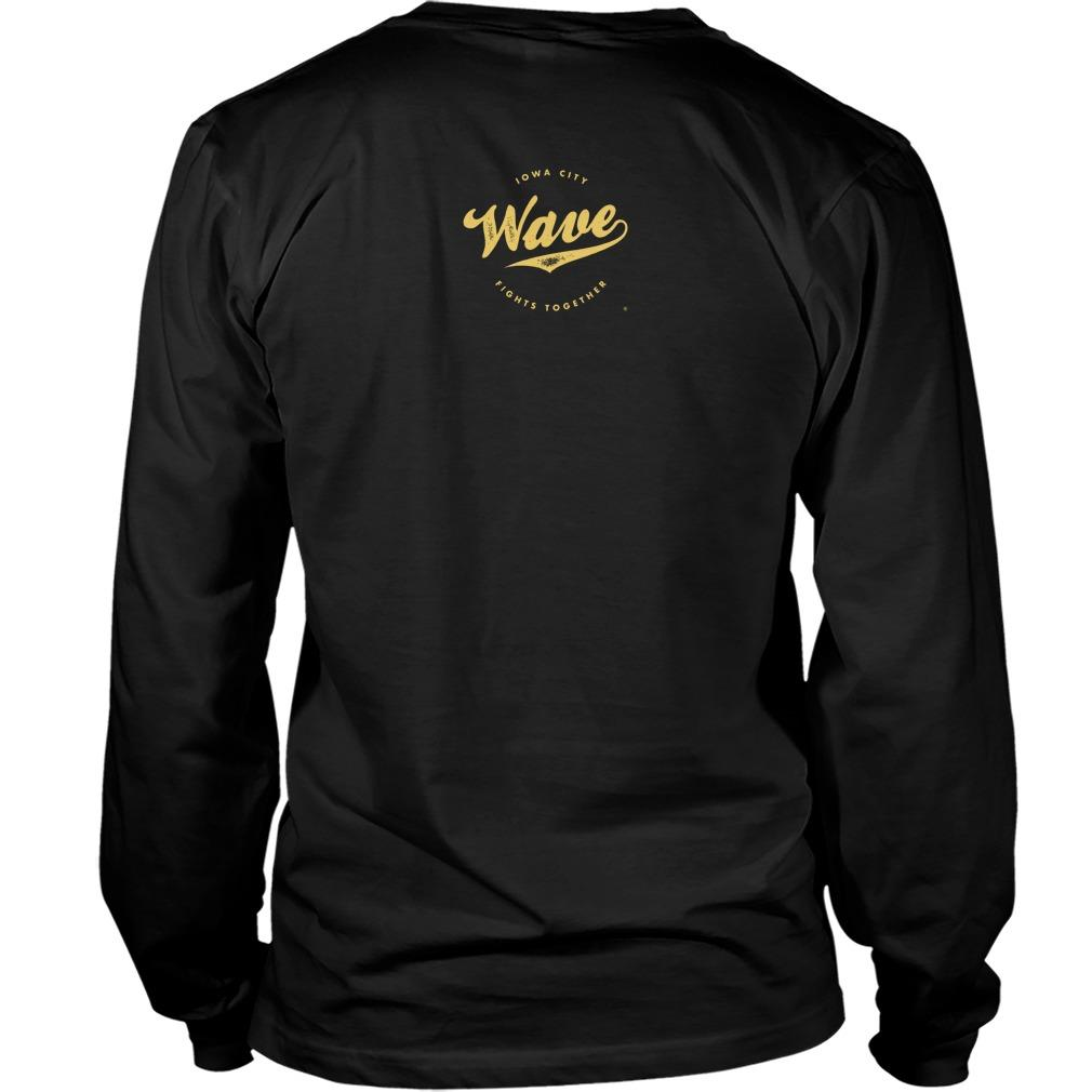 Saturday Tailgate Football Wave Longsleeve