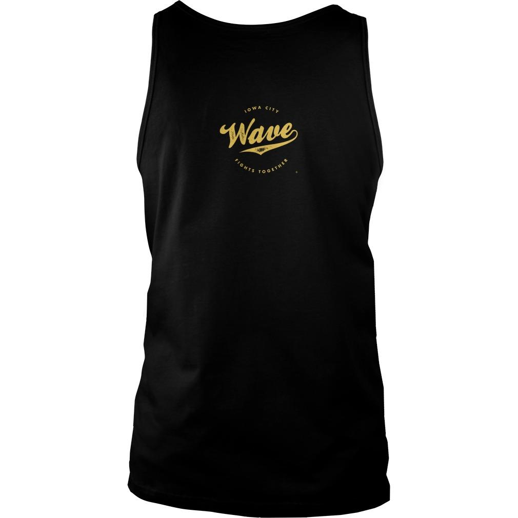 Saturday Tailgate Football Wave Tank Top