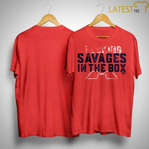 Savages In The Box T Shirt Yankees