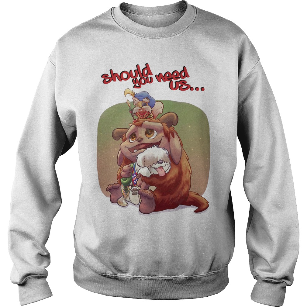 Should You Need Us Sweater