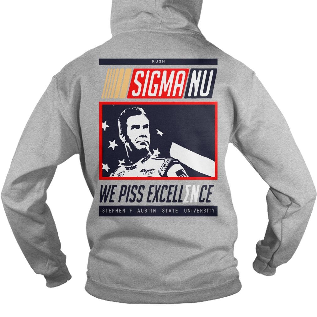 Sigma No We Piss Excellence Hoodie