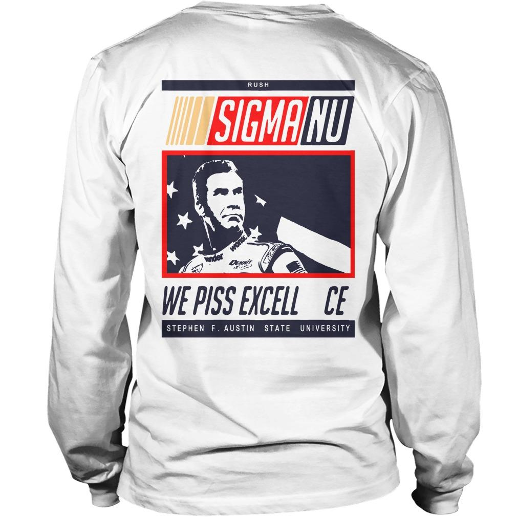 Sigma No We Piss Excellence Longsleeve