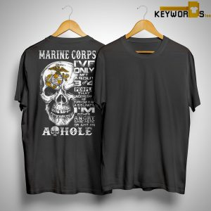 Skull Marine Corps I've Only Met About 3 Or 4 People That Understand Me Shirt