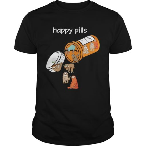 Sloths Happy Pills Shirt