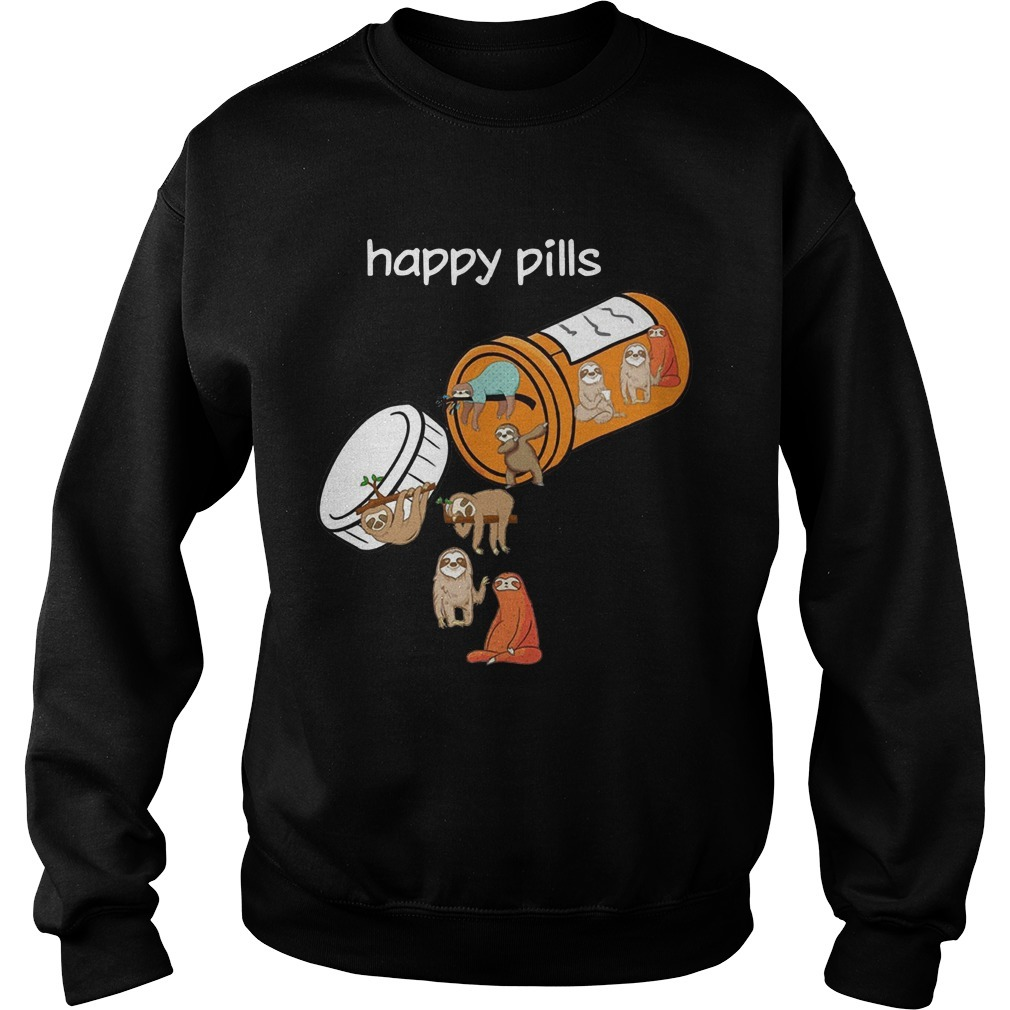 Sloths Happy Pills Sweater